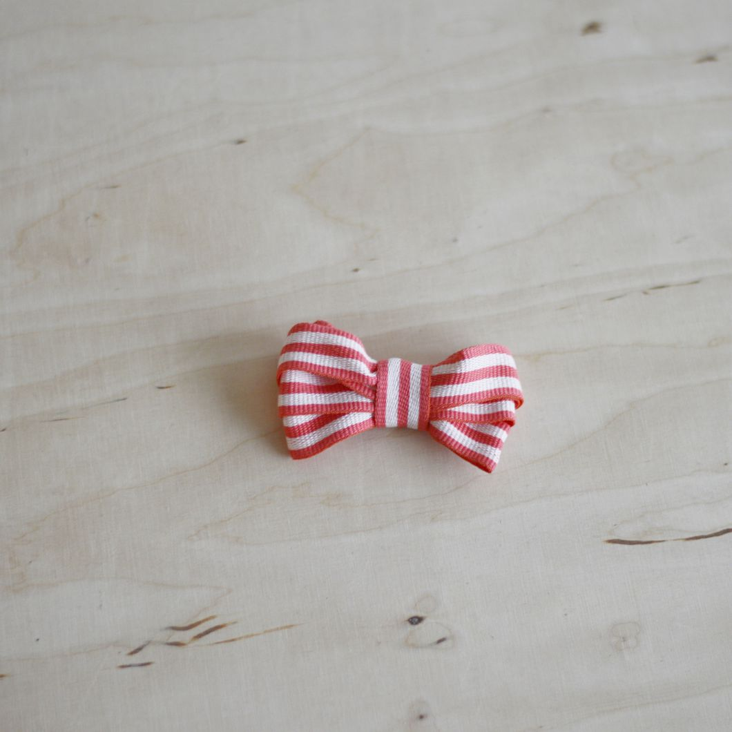 Ribbon, Coral / Natural